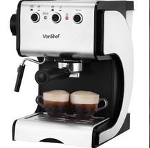15 Bar Auto Steam Cappucino Professional Home New Espresso Maker Coffee ... - $107.66