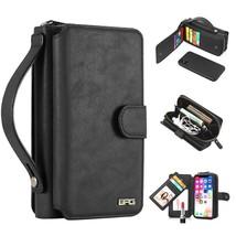 iPhone 8, iPhone 7 Plus Case, Magnetic Detachable Wallet PU Leather Mirr... - $27.71+
