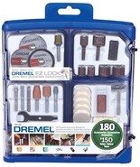 Dremel 180-piece All-Purpose Accessory Storage Kit 710-09 - £28.07 GBP