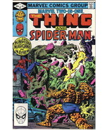 Marvel Two-In-One Comic Book #90 The Thing & Spider-Man, Marvel 1982 VER... - $2.99
