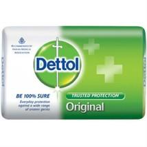 Dettol Original Soap, 125 g (Pack of 4)| 99.99% Germ protection - $34.58