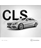 2015 Mercedes-Benz CLS-CLASS brochure catalog US 15 400 550 CLS63 AMG S - $10.00