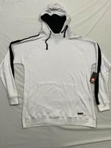 M167 NWT AIRWALK White Hooded Hoodie Sweatshirt Shirt White  MEN'S L Lar... - $14.80