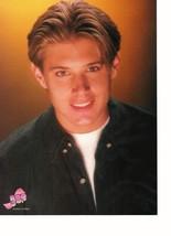 Jensen Ackles Melissa Joan Hart teen magazine pinup clipping Supernatural Soap