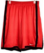 Nike Dri-Fit Red & Black Drawstring Athletic Basketball Shorts w Pockets Size XL