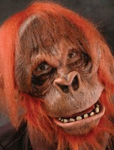 Orangutan Mask Monkey Primate Movable Mouth Ugly Halloween Costume Party... - $91.46 CAD