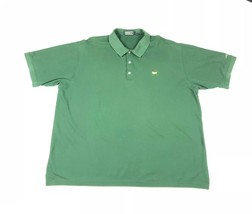 Masters Collection Mens Sz XXL Short Sleeve Pima Green Augusta National ... - $25.73