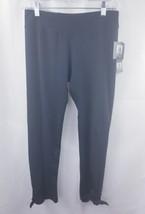 Anne Klein Sport Black high rise tight Crop Pant High Sz Small  bow tie ... - €44,30 EUR
