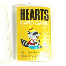 Vintage Hearts Cards Game Western Publishing NEW Made in USA 4905 Raccoon - $14.84