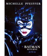 Batman Returns Movie Poster 24x36in #01 Catwoman  Michelle  Pfeiffer - $29.00