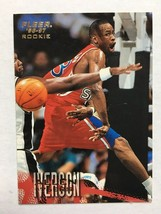 1996-97 Fleer Allen Iverson #235 Rookie Basketball Card Philadelphia 76'... - $2.99