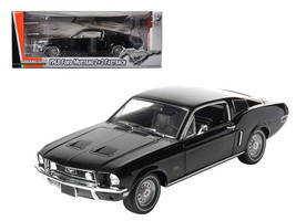 1968 Ford Mustang GT 2+2 Fastback Black Limited Edition 1 of 1800 Produc... - $77.98