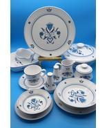NORITAKE BLUE HAVEN #9004 PROGRESSION CHINA JAPAN 1 PIECE CHOICE 5204-5216 - $5.68+