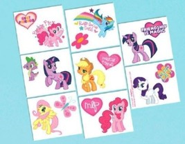 My Little Pony Birthday Party 16 Tattoos Favors - €1,87 EUR