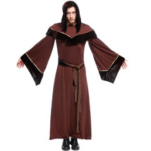 Olympus Wizard Priest Costume Cosplay Robe Halloween Cloak Adult Outfit ... - $89.99