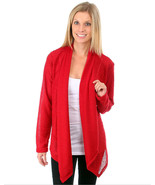 Chic Ladies Red or Black Burnout Top Wrap, Plus Size, USA. Work or Play - $27.86 CAD