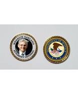 Pres Joe Biden /  Kamala Harris Cabinet Coin MERRICK GARLAND Attorney Ge... - $6.60