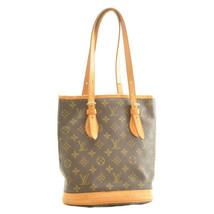 LOUIS VUITTON Monogram Bucket PM Shoulder Bag M42238 LV Auth 11516 No St... - $279.45