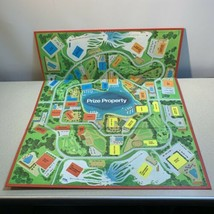 Prize Property Game Board Clean Playing Surface Milton Bradley 1974 - $8.90