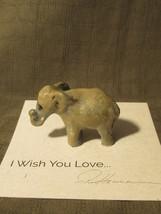 Ron Hevener Miniature Elephant Figurine  - $25.00