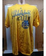 Majestic NBA Golden State Warriors 2017 Champions T-Shirt - Size XL - $13.78