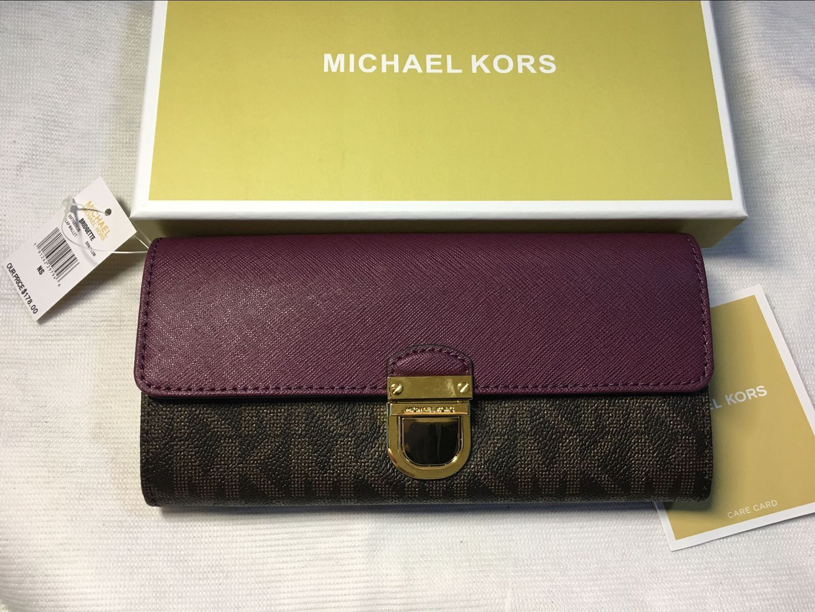 d8d5dfeedcc6 Authentic Michael Kors Signature PVC and and 50 similar items. Qq  20180102164947