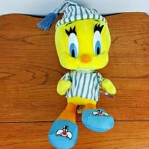 """Vintage Large Tweety Bird 18"""" Plush Looney Tunes Pajamas Sylvester Shoes  - $26.40"""