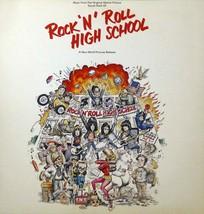 "Rock 'n' Roll High School (Album Cover Art) - Framed Print - 16"" x 16"" - $51.00"