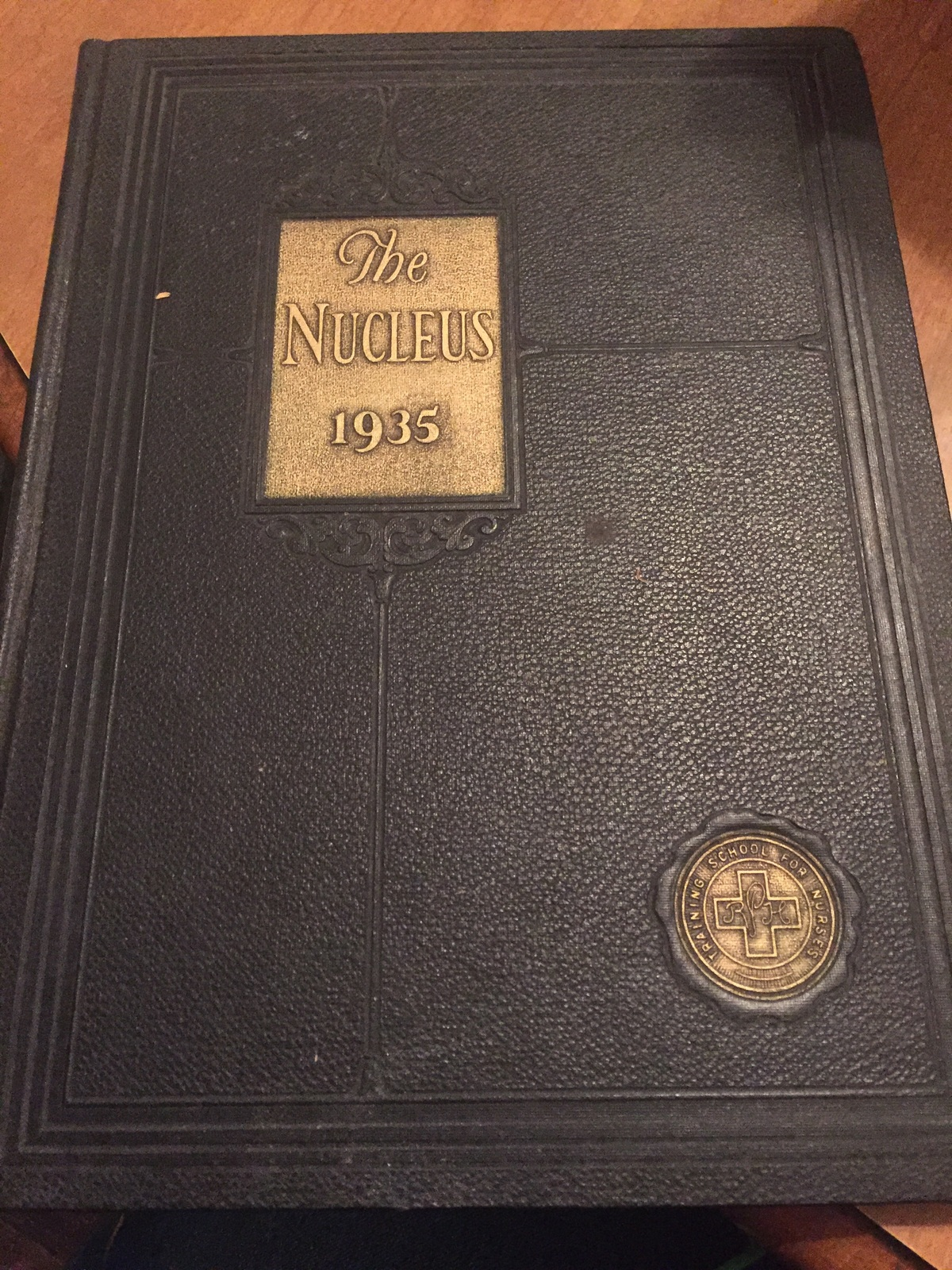 The Nucleus 1935 yearbook drh115
