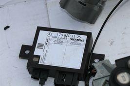 2001 MB SLK230 ECU ECM Skreem Module Ignition Switch Key Lock Manual Trans 6spd image 3