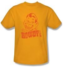 Howdy Doody T-shirt retro vintage TV show 100% cotton graphic printed gold tee image 2