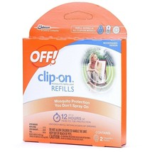 Off! Clip-On Refills, 2 Count Refill (Pack of 5), 10 Total Refills - $16.99