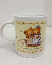 Hallmark Gourmet Gift Teddy Bear Coffee Mug Tea Cup Valentine's Day Sweetheart - $5.72