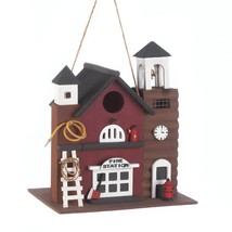 Fire Station Birdhouse - $25.00