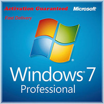 Microsoft Windows 7 Pro Professional Key & Download 32/64 Bit - $9.00
