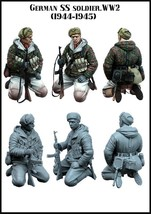 1 : 35 scale resin model figures kit German E125 [tuskmodel] Free Shipping - $10.89