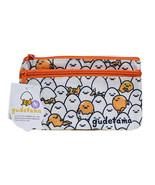 Sanrio Gudetama Stationery Bag Cosmetic Double Zipper Bag BNWT  - $8.55