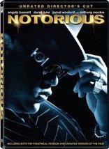 Notorious DVD Jamal Woolard (Actor), Anthony Mackie (Actor), George Till... - $7.99