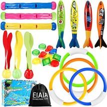 EIAIA Pool Toys for Kids - Under Water Diving Toys Swim Toys Set, 24 Pac... - $19.28
