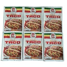 (6) packs Lawry's HOT TACO Seasoning Spices Mix Lot BB 9/2021 - $29.69