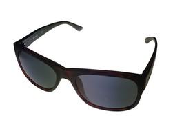 Timberland Men Sunglass Matt Black Plastic Square, SmokeLens TB7135 2A - $17.99