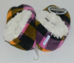 Snoozies 200192P Foot Coverings Pink Buffalo Plaid Kids 13 Through 1 image 3