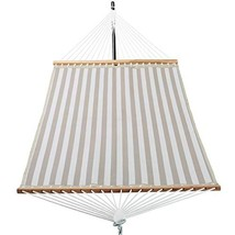 Patio Watcher 14 FT Quick Dry Hammock with Double Size Solid Wood Spread... - $69.82