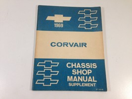 1969 Chevrolet Corvair Factory Chassis Shop Manual Supplement Original OEM - $12.99