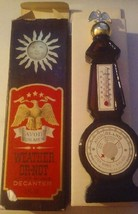 Vintage AVON Weather or Not After Shave Decanter FULL BOTTLE With Box - $5.00