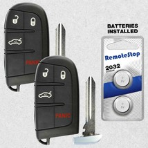 2 For 2012 2013 2014 Chrysler 300 Dodge Dart Smart Prox Keyless Remote K... - $37.59