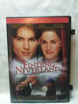 Finding Neverland (DVD, 2005, Widescreen) Johnny Depp, Kate Winslet - $0.98