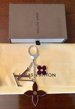 Louis Vuitton Bijoux Sac FLEUR D'EPI Key/ Bag Charm-Gently Used With Date Code image 2