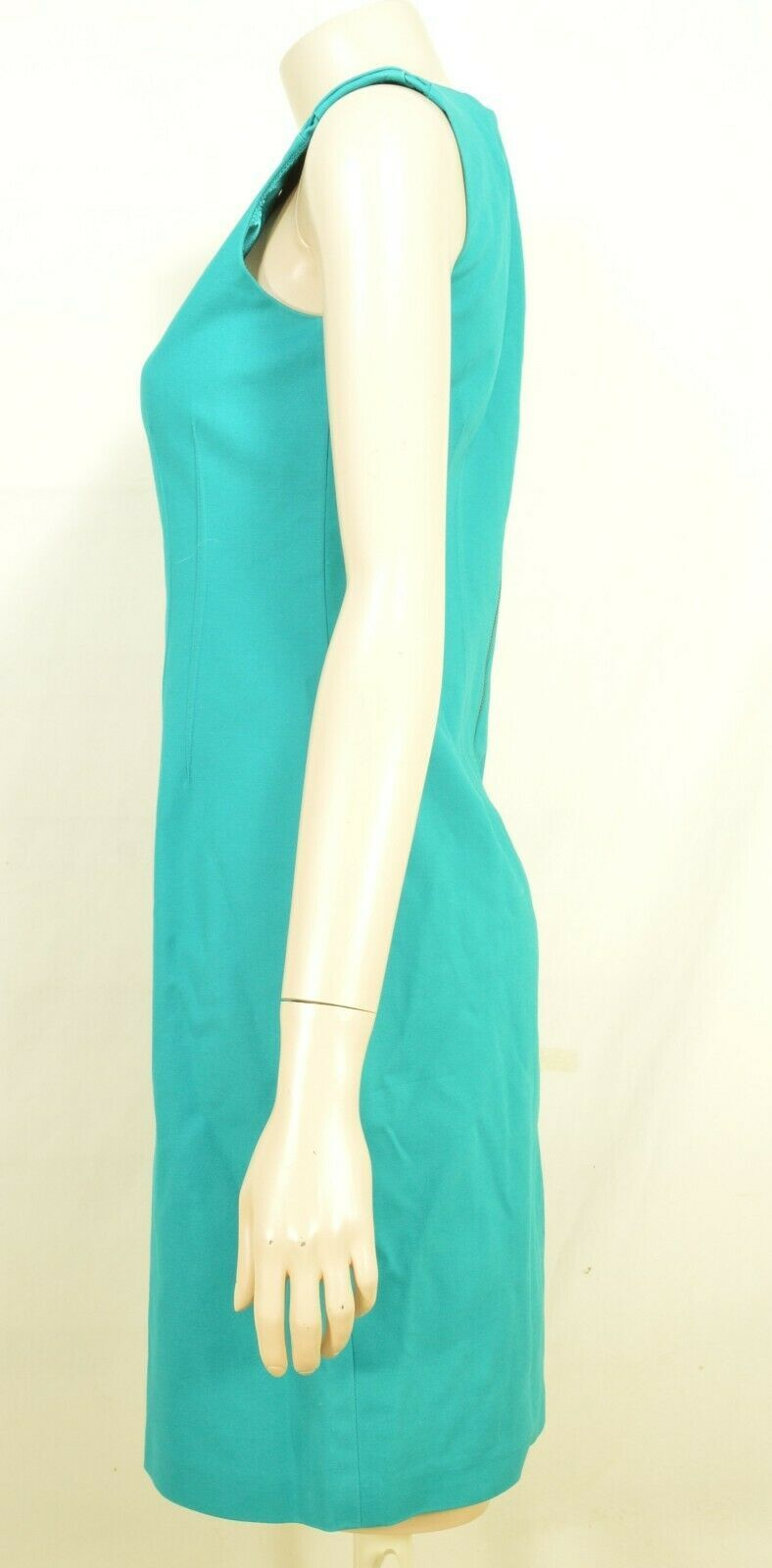 Elie Tahari dress SZ 2 LOT of 2  1 turquoise 1 floral sheath career chic lined image 8