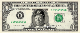 ROBERTO ALOMAR on a REAL Dollar Bill MLB Baseball Cash Money Collectible... - $8.88